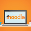 Moodle on a laptop